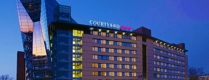 Courtyard by Marriott Irkutsk City Center is one of สถานที่ที่ Alexander ถูกใจ.