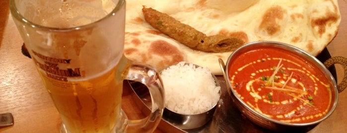 インド レストラン&バー サイノ 市ヶ谷店 is one of สถานที่ที่ Tanaka ถูกใจ.