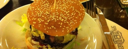 Space Burger is one of The List:Dusseldorf.