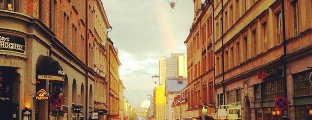 Götgatan is one of Stockholm City Guide.