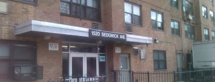 1520 Sedgwick Avenue is one of NY Loves Me.