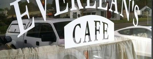 Everlean's Cafe is one of Tempat yang Disimpan Brandon.