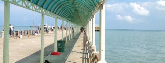 Don Sak Pier is one of Surat Thani-Nakhon Sithammarat.