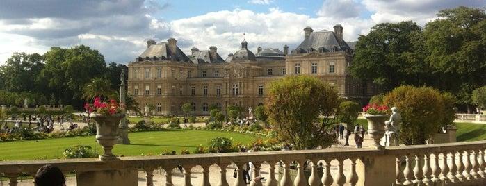 Jardin du Luxembourg is one of Kristen's Paris.