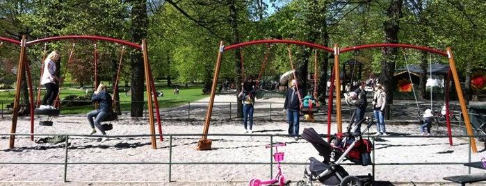 Humlegårdens parklek is one of Sweden with kid.