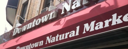 Downtown Natural Market is one of Healthy food.