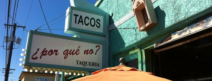 ¿Por Qué No? is one of Go To Spots when I'm in Town.
