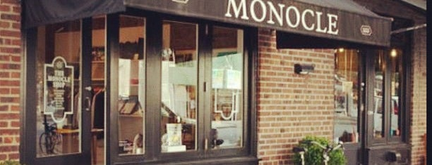 Monocle Shop is one of NYC.