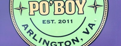 Willie's Po' Boy Truck is one of Washington DC Food Trucks.