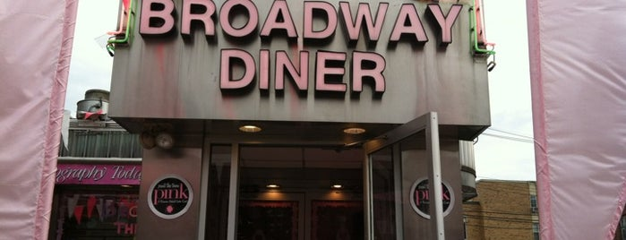 Broadway Diner is one of New Jersey Diners.