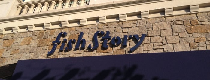 Fish Story is one of Top 10 dinner spots in napa CA.