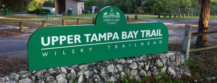 Upper Tampa Bay Trail is one of Lugares guardados de Jeremy.