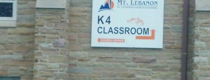 MT Lebanon Lutheran School & Church is one of Locais curtidos por Rob.