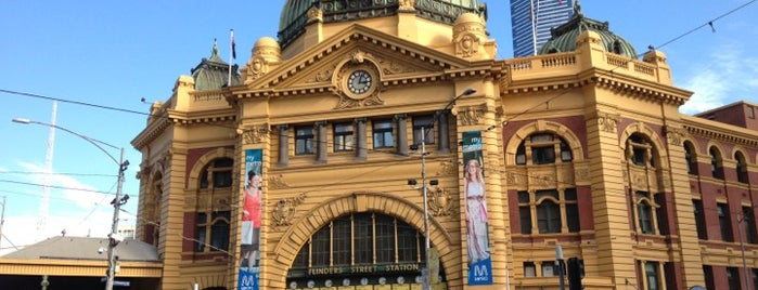 Flinders Street Station is one of Around The World: SW Pacific.