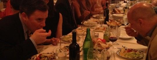 Avra Estiatorio is one of Eating Manhattan III.