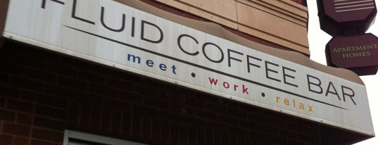 Fluid Coffee Bar is one of Gespeicherte Orte von Kris.