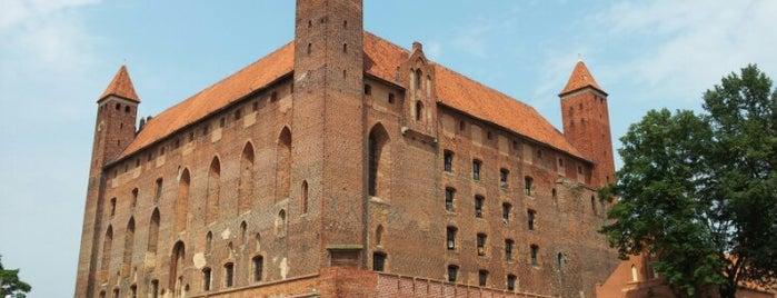 Zamek Krzyżacki w Gniewie is one of สถานที่ที่ Tomek ถูกใจ.