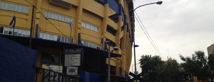 "Estadio Alberto J. Armando ""La Bombonera"" (Club Atlético Boca Juniors) is one of Soccer Stadiums."
