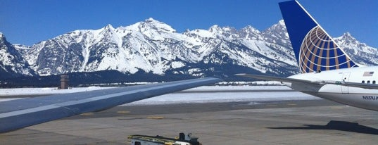 Jackson Hole Airport (JAC) is one of AIRPORT.