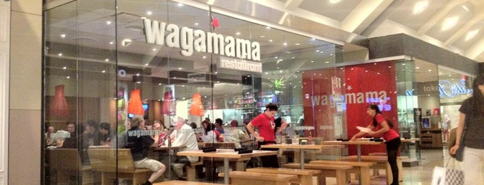 wagamama is one of Lieux qui ont plu à Gabriel.