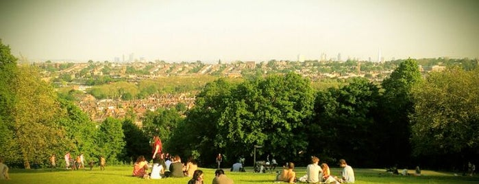 Alexandra Park is one of Spring Famous London Story.