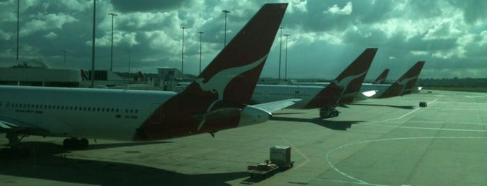 Melbourne Airport (MEL) is one of AIRPORT.