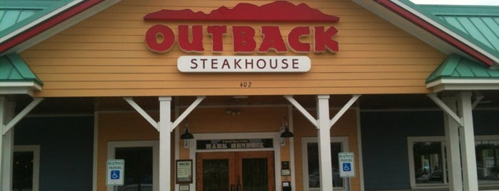 Outback Steakhouse is one of Favorite Oak Ridge Restaurants.