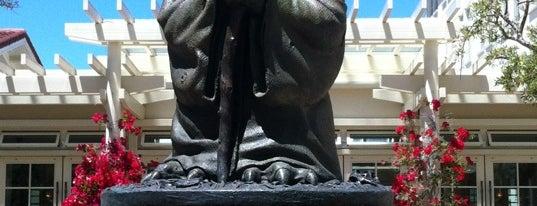 Yoda Fountain is one of San Francisco.
