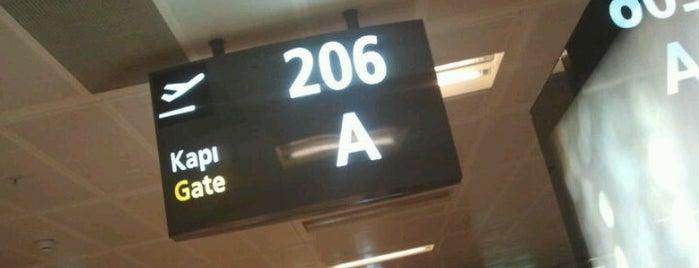 Gate 206A is one of Erkan : понравившиеся места.