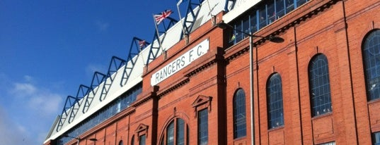 Ibrox Stadyumu is one of badger.