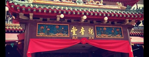 观音堂佛祖庙 Kwan Im Thong Hood Cho Temple is one of Jas' favorite urban sites.