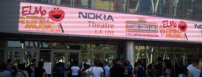 Microsoft Theater is one of California, CA.