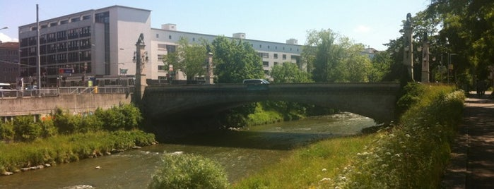 Stauffacher-Brücke is one of Zurich: business trip 2014-2015.