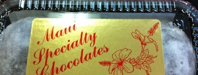 Maui Specialty Chocolates is one of Maui Wowie.