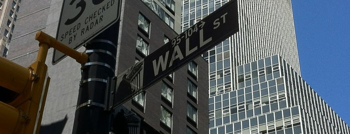 Wall Street is one of NYC Must See!.