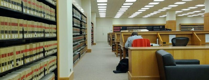Robert Crown Law Library is one of Study Spots on the Farm.