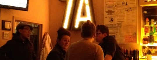 7A Cafe is one of east village faves.