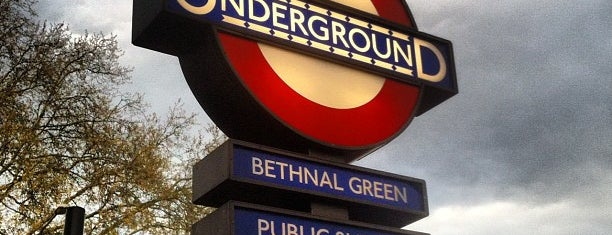 Bethnal Green London Underground Station is one of Underground Stations in London.