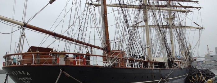 1877 Tall Ship ELISSA is one of Galveston.