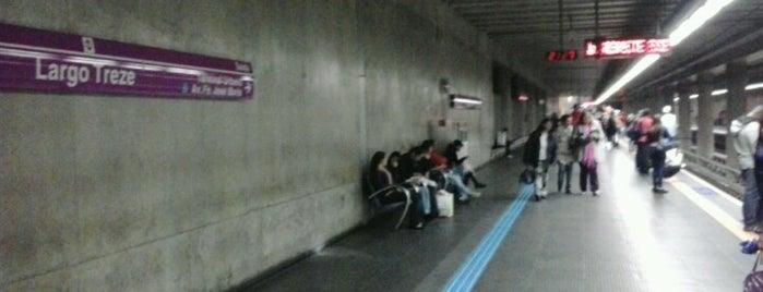 Estação Largo Treze (Metrô) is one of Por aí em Sampa.