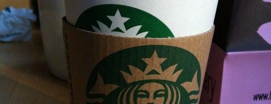 Starbucks is one of สถานที่ที่ Thomas ถูกใจ.