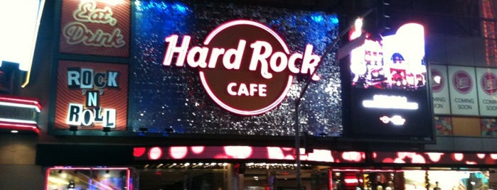 Hard Rock Cafe Hollywood on Hollywood Blvd is one of Caner : понравившиеся места.