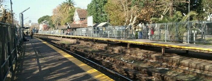 Estación Pueyrredón [Línea Mitre] is one of Estaciones Tren Linea Mitre J.L. Suarez.