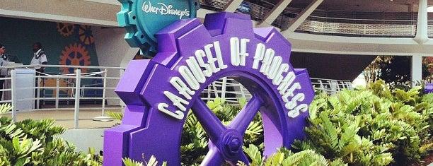 Walt Disney's Carousel of Progress is one of Walt Disney World.