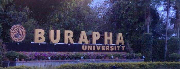 Burapha University is one of Chonburi & Si Racha.