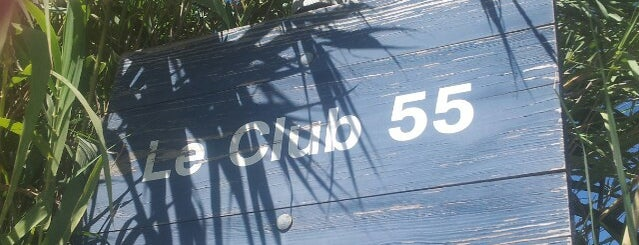 Club 55 Plage is one of Saint Tropez  - Summer 2013.