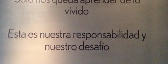 Café Restaurant Museo Memoria is one of This is Santiago!.