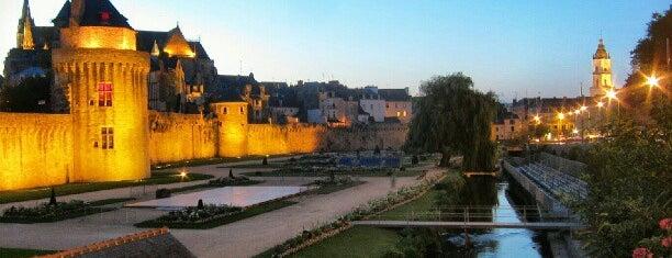 Jardin des Remparts is one of Bretagne.