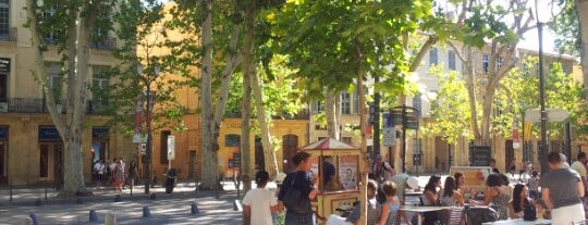 Cours Mirabeau is one of Bienvenue en France !.