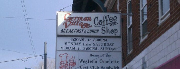 German Village Coffee Shop is one of CMH favs.